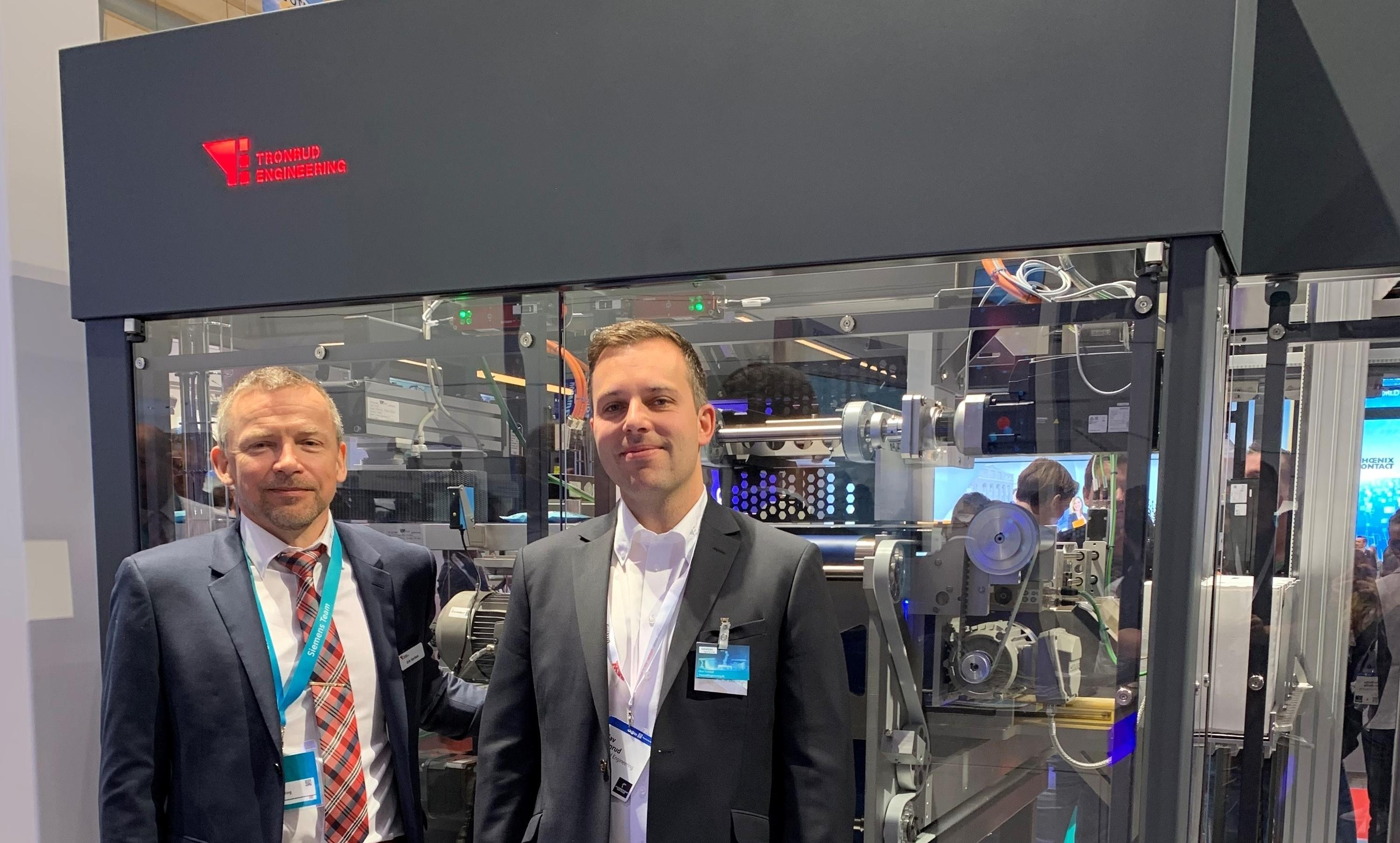 First Norwegian company presented by Siemens at the Hannover Messe 2019
